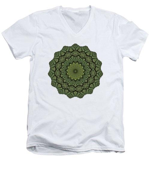 15 Symmetry Celery Bulb Men's V-Neck T-Shirt