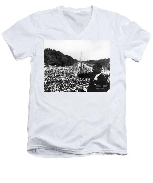 Martin Luther King, Jr Men's V-Neck T-Shirt