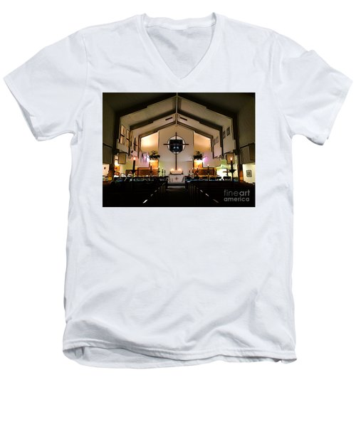 New Upload Men's V-Neck T-Shirt