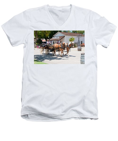 Old Town San Diego Men's V-Neck T-Shirt