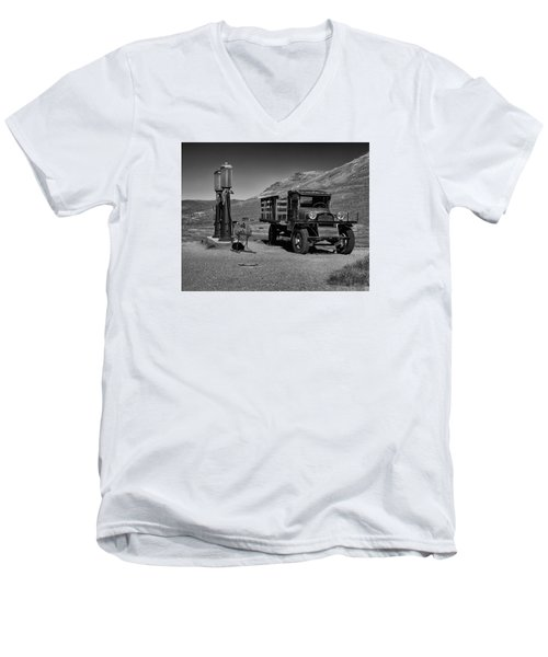 1927 Dodge Graham B And W Men's V-Neck T-Shirt