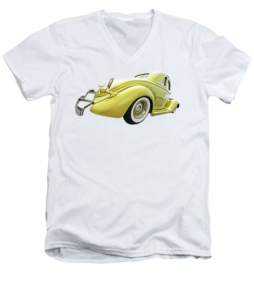 1935 Ford Coupe Men's V-Neck T-Shirt by Gill Billington