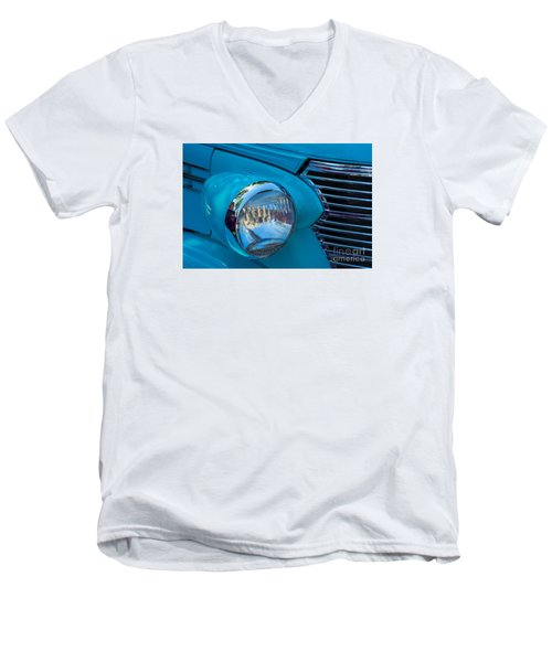 1936 Chevy Coupe Headlight And Grill Men's V-Neck T-Shirt