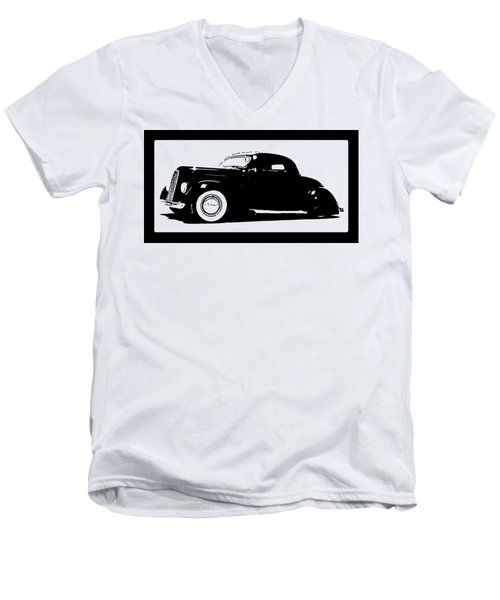 1936 Ford Custom Tee Men's V-Neck T-Shirt