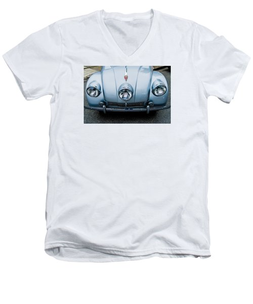 Men's V-Neck T-Shirt featuring the photograph 1947 Tatra T87 by M G Whittingham