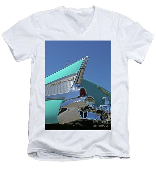 1957 Chevy Men's V-Neck T-Shirt