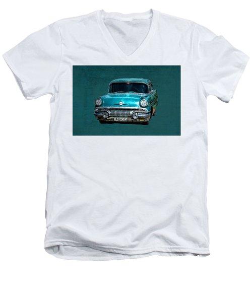 1957 Pontiac Bonneville Men's V-Neck T-Shirt