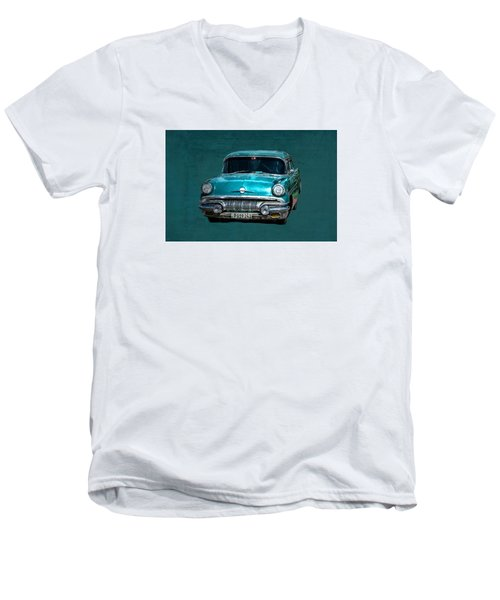1957 Pontiac Bonneville Men's V-Neck T-Shirt