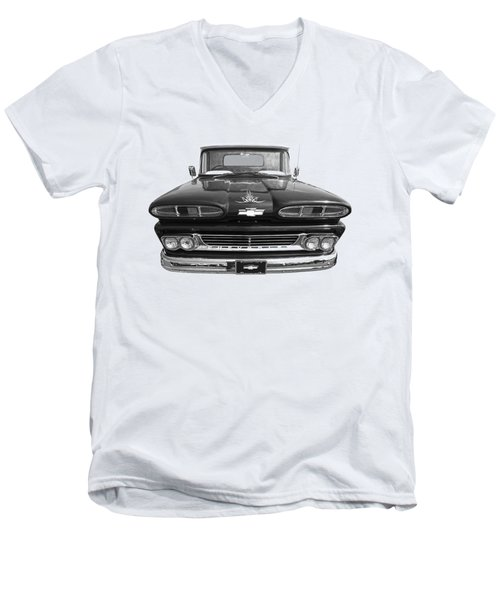 1960 Chevy Truck Men's V-Neck T-Shirt
