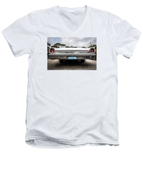 1961 Ford Galaxie 500 Men's V-Neck T-Shirt by Chris Smith