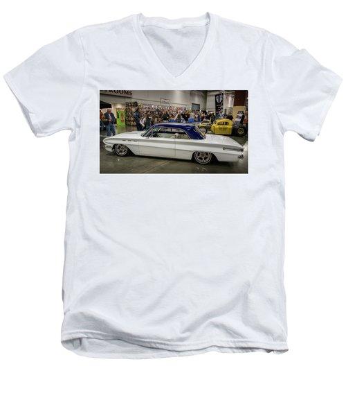 1962 Buick Skylark Men's V-Neck T-Shirt by Randy Scherkenbach