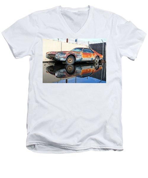 1966 Toronado In Decay  Men's V-Neck T-Shirt