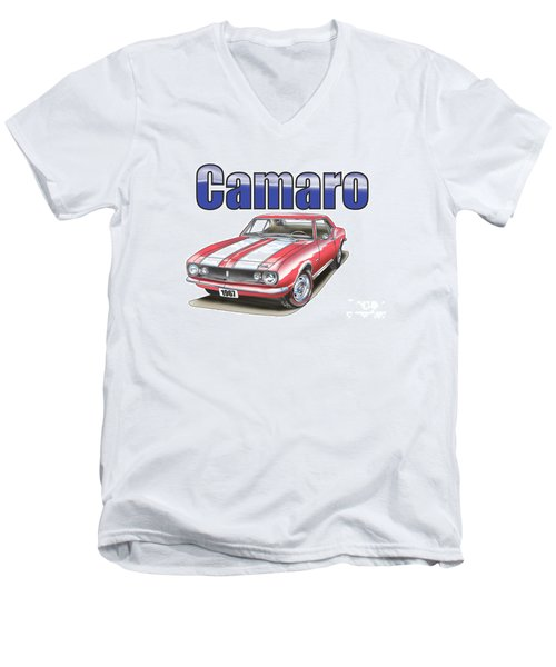 1967 Camaro Men's V-Neck T-Shirt