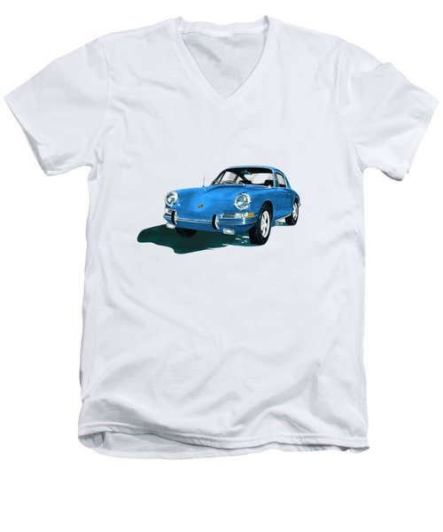Porsche 911 1968 Men's V-Neck T-Shirt