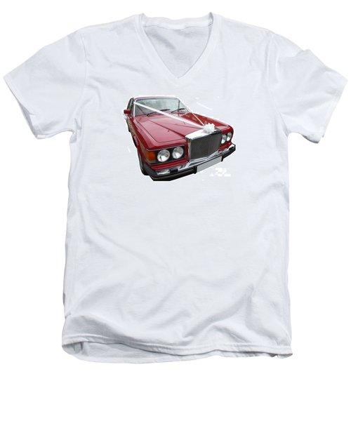 1997 Bentley Turbo R Men's V-Neck T-Shirt