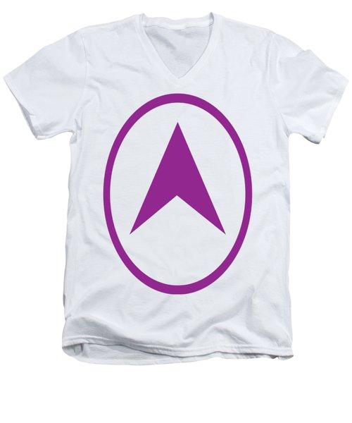T-shirts Pod Gifts Direction Symbol North Action Indication Navinjoshi Fineartamerica Pixels Men's V-Neck T-Shirt