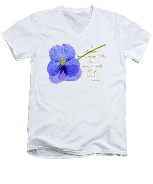 A Soft Answer Men's V-Neck T-Shirt