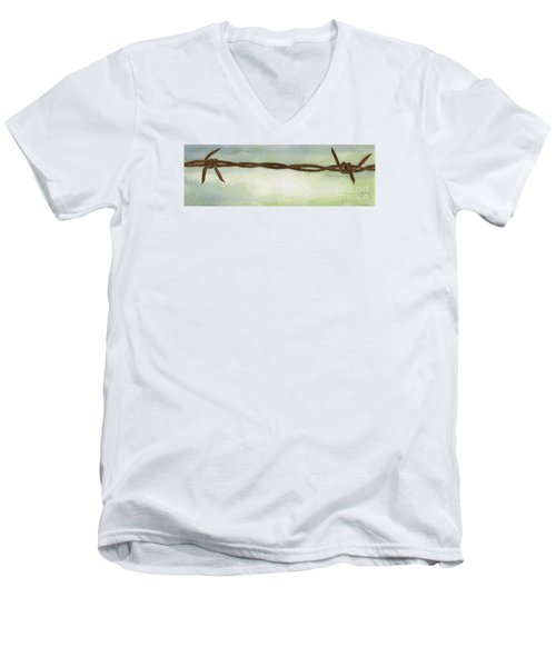 Auschwitz Men's V-Neck T-Shirt