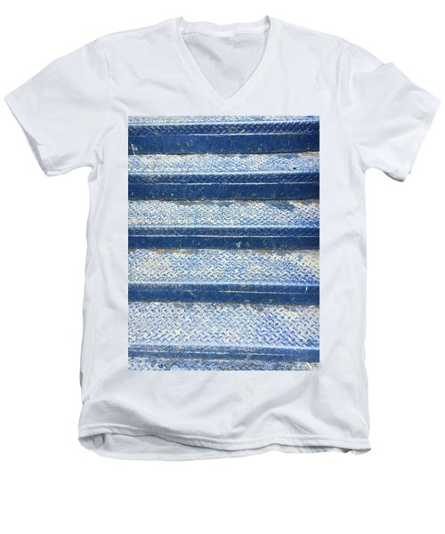 Blue Steps Men's V-Neck T-Shirt