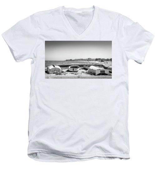 Boats. Men's V-Neck T-Shirt