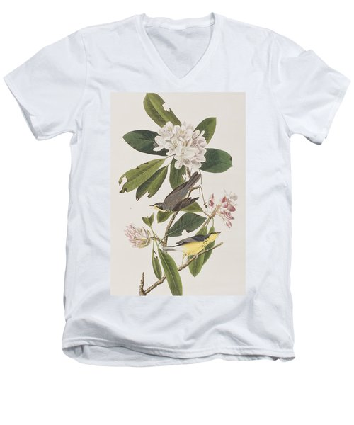 Canada Warbler Men's V-Neck T-Shirt