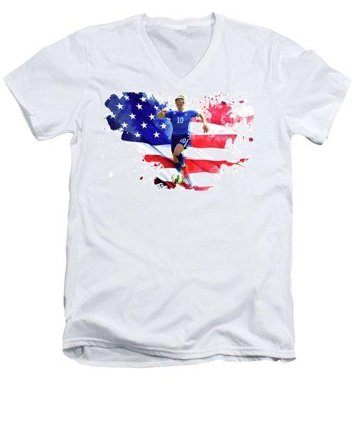 Carli Lloyd Men's V-Neck T-Shirt