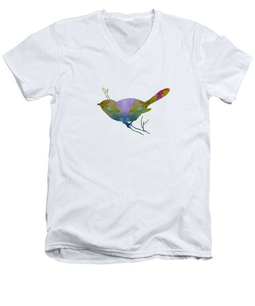 Chickadee Men's V-Neck T-Shirt