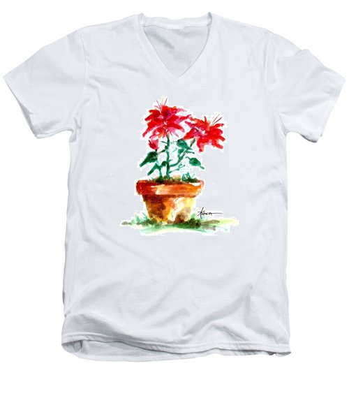 Cracked Pot  Men's V-Neck T-Shirt