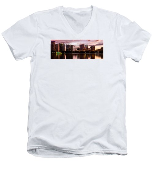 Downtown Orlando Men's V-Neck T-Shirt