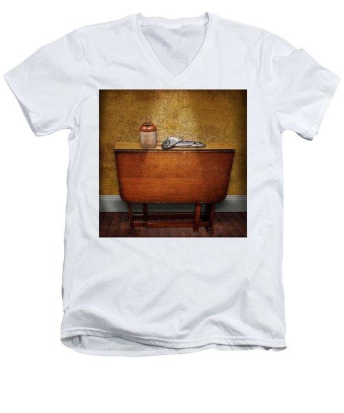 2 Fish And A Jug Men's V-Neck T-Shirt