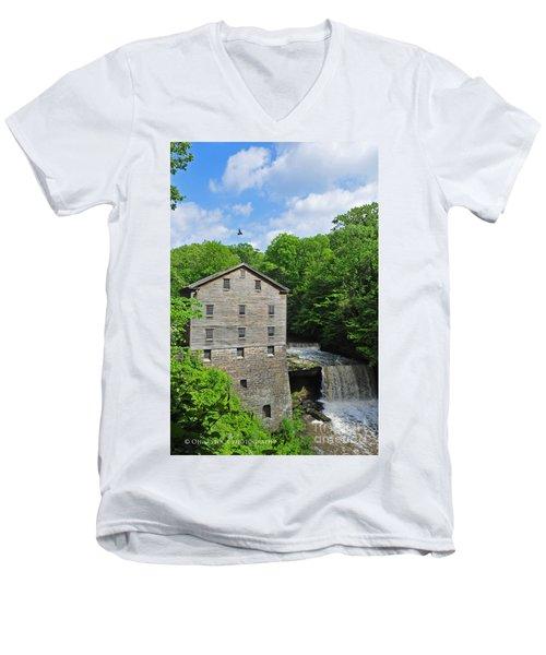 Lantermans Mill Men's V-Neck T-Shirt