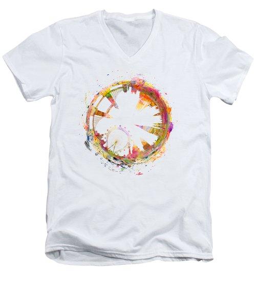 London Men's V-Neck T-Shirt