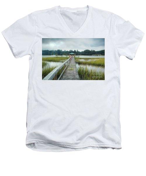 Lowcountry Dock Men's V-Neck T-Shirt