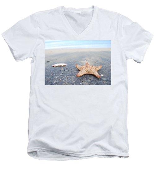 Loyda's Point Of View  Men's V-Neck T-Shirt