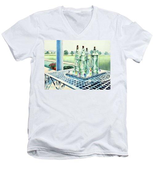 Marbles On Marble Men's V-Neck T-Shirt