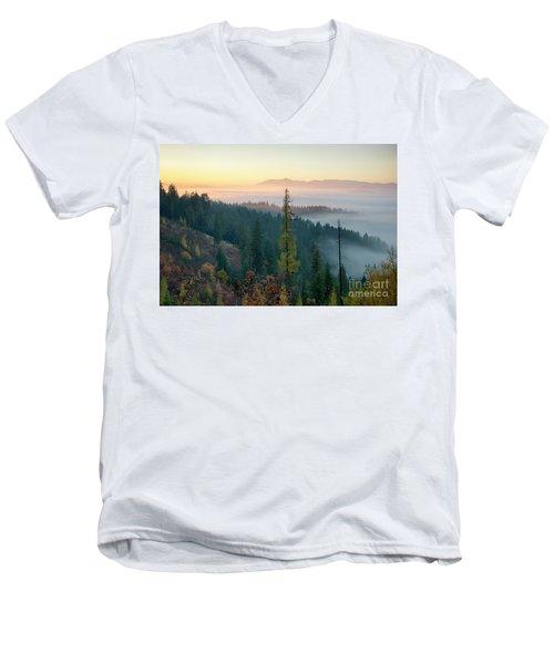 Morning Glow Men's V-Neck T-Shirt