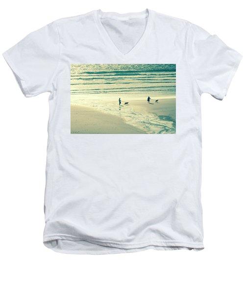Oceanside Oregon Men's V-Neck T-Shirt