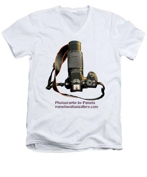 Photography By Pamela Men's V-Neck T-Shirt by Pamela Walton