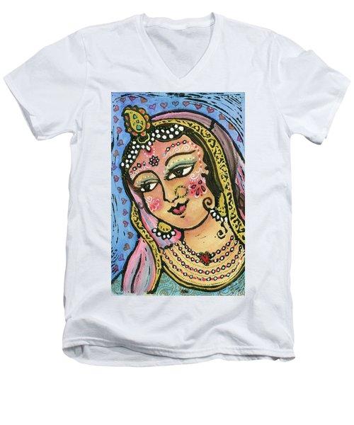Radha Men's V-Neck T-Shirt