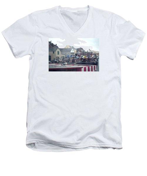Nor' Easter At Portsmouth Men's V-Neck T-Shirt