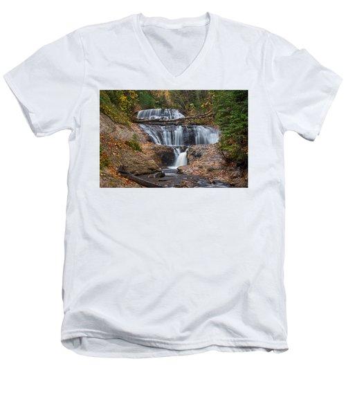 Sable Falls Men's V-Neck T-Shirt
