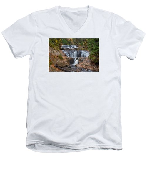 Sable Falls Men's V-Neck T-Shirt