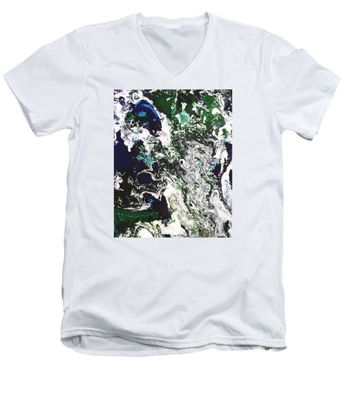 Space Odyssey Men's V-Neck T-Shirt