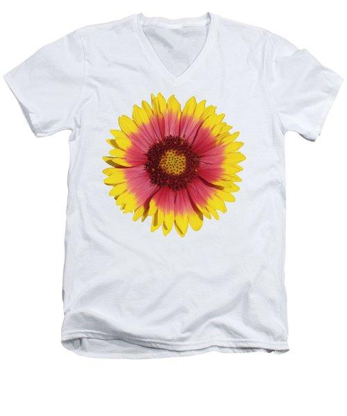 Spring Flower Men's V-Neck T-Shirt by George Atsametakis