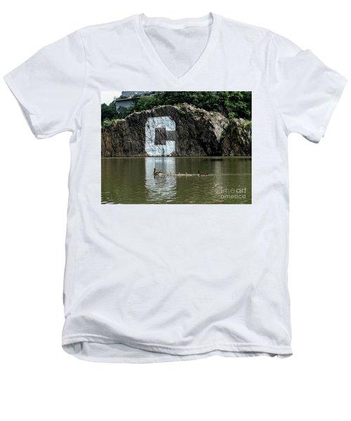 Spuyten Duyvil  Men's V-Neck T-Shirt