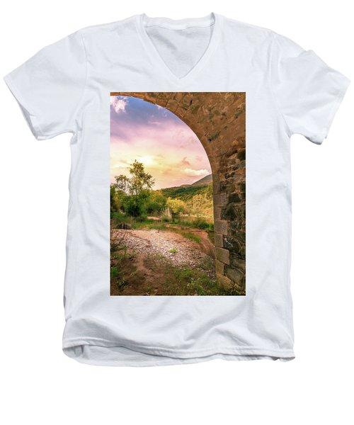 // Men's V-Neck T-Shirt
