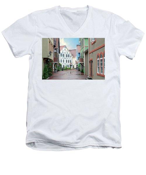 Stoudtburg Village Men's V-Neck T-Shirt