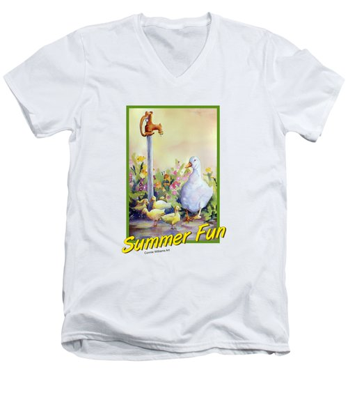 Summer Fun Men's V-Neck T-Shirt
