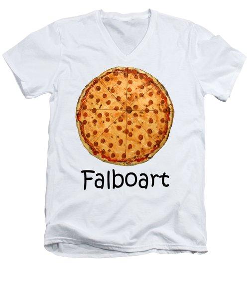 The Big Ass New York Pizza Men's V-Neck T-Shirt