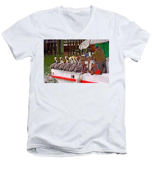 The Diner Men's V-Neck T-Shirt